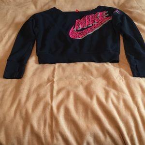 Cropped long sleeved Nike Sweatshirt